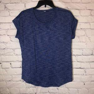 Lululemon Basic Blue Tee Size 6